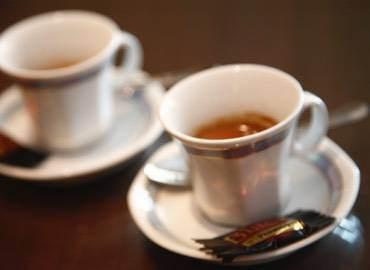 Caffetteria servita a regola d'arte